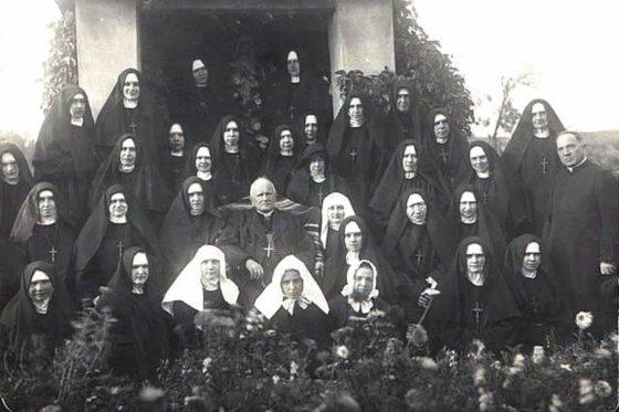 Mniszki Klaryski Kapucynki  zabp J. Nowowiejskim, 1931r.